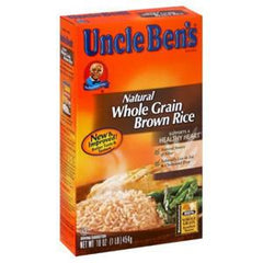 UNCLE BEN'S NATURAL WHOLE GRAIN BROWN RICE