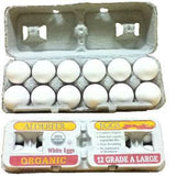 ALDEFER CAGE FREE GRADE A LARGE WHITE EGGS