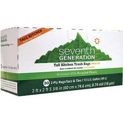 SEVENTH GENERATION TALL KITCHEN BAGS - 13 GALLON