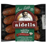 AIDELLS ALL NATURAL ITALIAN STYLE WITH MOZZARELLA CHEESE SMOKED SAUSAGE