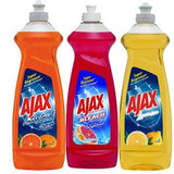 AJAX LEMON     SUPER DEGREASER DISH LIQUID