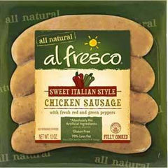 AL FRESCO ALL NATURAL SWEET ITALIAN STYLE CHICKEN SAUSAGE