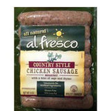 AL FRESCO ALL NATURAL COUNTRY STYLE CHICKEN BREAKFAST SAUSAGE