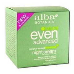 ALBA BOTANICA EVEN ADVANCE NIGHT CREAM