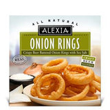 ALEXIA BEER BATTTERED ONION RINGS WITH SEA SALT