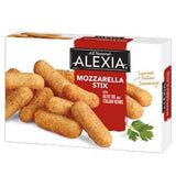 ALEXIA NATURAL MOZZARELLA STIX WITH ITALIAN HERB AND OLIVE OIL