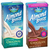BLUE DIAMOND ALMOND BREEZE ORIGINAL UNSWEETENED ORIGINAL ALMOND MILK