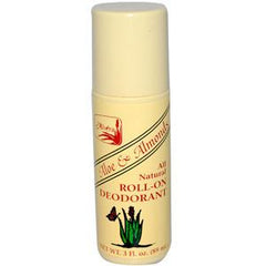 ALVERA ALOE & ALMOND ALL NATURAL ROLL - ON DEODORANT