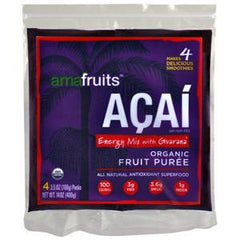 AMAFRUITS ACAI ENERGY MIX WITH GUARANA -  FROZEN FRUIT