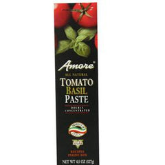 AMORE ALL NATURAL TOMATO BASIL PASTE