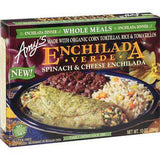 AMY'S WHOLE MEALS ENCHILADA VERDE SPINACH & CHEESE