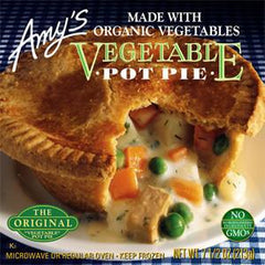 AMY'S ORGANIC NON DAIRY VEGETABLE POT PIE