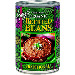AMY'S ORGANIC TRADITIONAL REFRIED BEANS