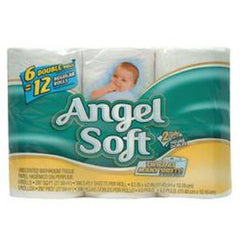 ANGEL SOFT 2X STRONG STRENGTH BATHROOM TISSUE 6 PACK