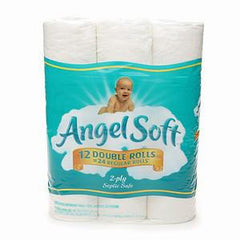 ANGELSOFT SOFTNESS & STRENGTH PAPER TOILET