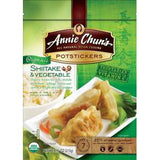 ANNIE CHUN'S POTSTICKERS SHIITAKE & VEGETABLE
