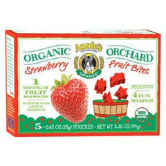 ANNIE'S ORGANIC STRAWBERRY FRUIT BITES