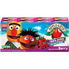 APPLE & EVE SESAME STREET BERRY JUICE - 8 PACK