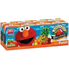 APPLE & EVE SESAME STREET ELMO PUNCH JUICE - 8 PACK