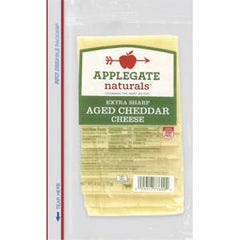 APPLEGATE NATURAL AGED CHEDDAR CHEESE