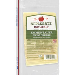 APPLEGATE NATURAL EMMENTALER SWISS CHEESE