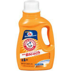 ARM & HAMMER 2X LIQUID DETERGENT WITH BLEACH ALTERNATIVE - 26 LOADS