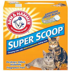 ARM & HAMMER SUPER SCOOP FRAGRANCE FREE