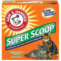 ARM & HAMMER SUPER SCOOP FRESH SCENT - ODOR ELIMINATING BAKING SODA