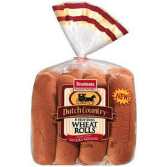 ARNOLD WHEAT HOT DOG ROLL 8 PACK BUNS
