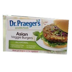 DR.PRAEGER'S ALL NATURAL ASIAN VEGGIE BURGERS