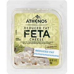 ATHENO FETA REDUCED FAT CRUMBLE FETA CHEESE
