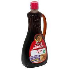AUNT JEMIMA LIGHT ORIGINAL PANCAKE SYRUP
