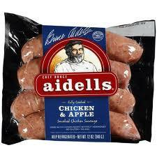 AIDELL'S CHICKEN & APPLE SAUSAGE