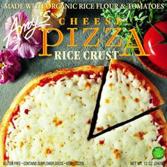AMY'S CHEESE PIZZA RICE CRUST
