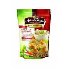 ANNIE CHUN'S MINI WONTONS SPICY VEGETABLE