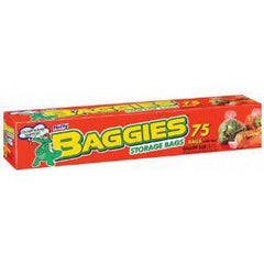 BAGGIES STORAGE BAGS GALLON SIZE - 50 BAGS