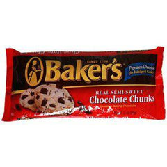 BAKER'S SEMI-SWEET CHOCOLATE CHUNKS