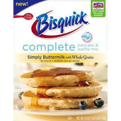 BETTY CROCKER BISQUICK SIMPLY BUTTERMILK WITH WHOLE GRAIN COMPLETE PANCAKE