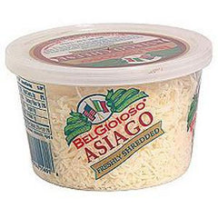 BELGIOIOSO ASIAGO SHREDDED CUP CHEESE