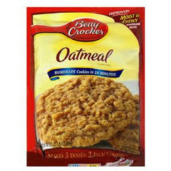 BETTY CROCKER  OATMEAL COOKIE MIX