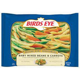 BIRDS EYE BABY MIXED BEANS & CARROTS VEGETABLE
