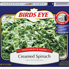 BIRDS EYE CREAMED SPINACH