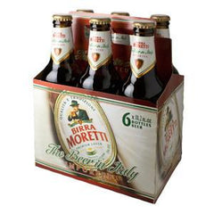 BIRRA MORETTI THE BEER IN ITALY IMPORTED