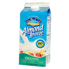 BLUE DIAMOND ALMOND BREEZE ALL NATURAL ORIGINAL MILK