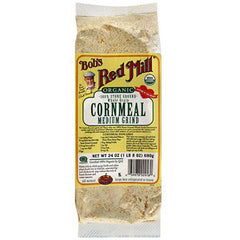 BOB'S RED MILL ORGANIC MEDIUM  CORN MEAL