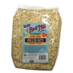 BOB'S RED MILL ORGANIC ROLLET OATS OLD FASHION