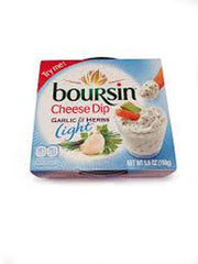 BOURSIN CHEESE DIP GARLIC & HERBS LIGHT