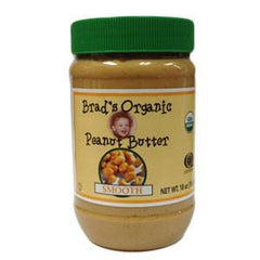 BRAD'S ORGANIC SMOOTH PEANUT BUTTER