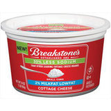 BREAKSTONE 2% REDUCED SODIUM COTTAGE CHEESE