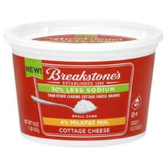 BREAKSTONE 4% COTTAGE CHEESE
